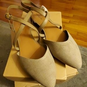 Tan Indigo Rd. shoes